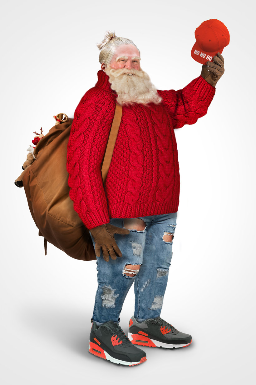 How Santa Would Look Today