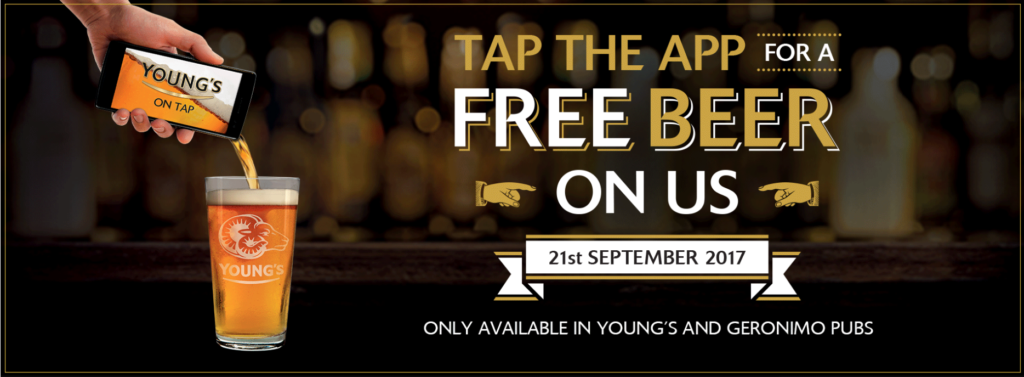 Young's Free Beer